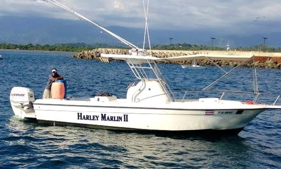Book A Fun Fishing Day In Quepos, Costa Rica On Center Console