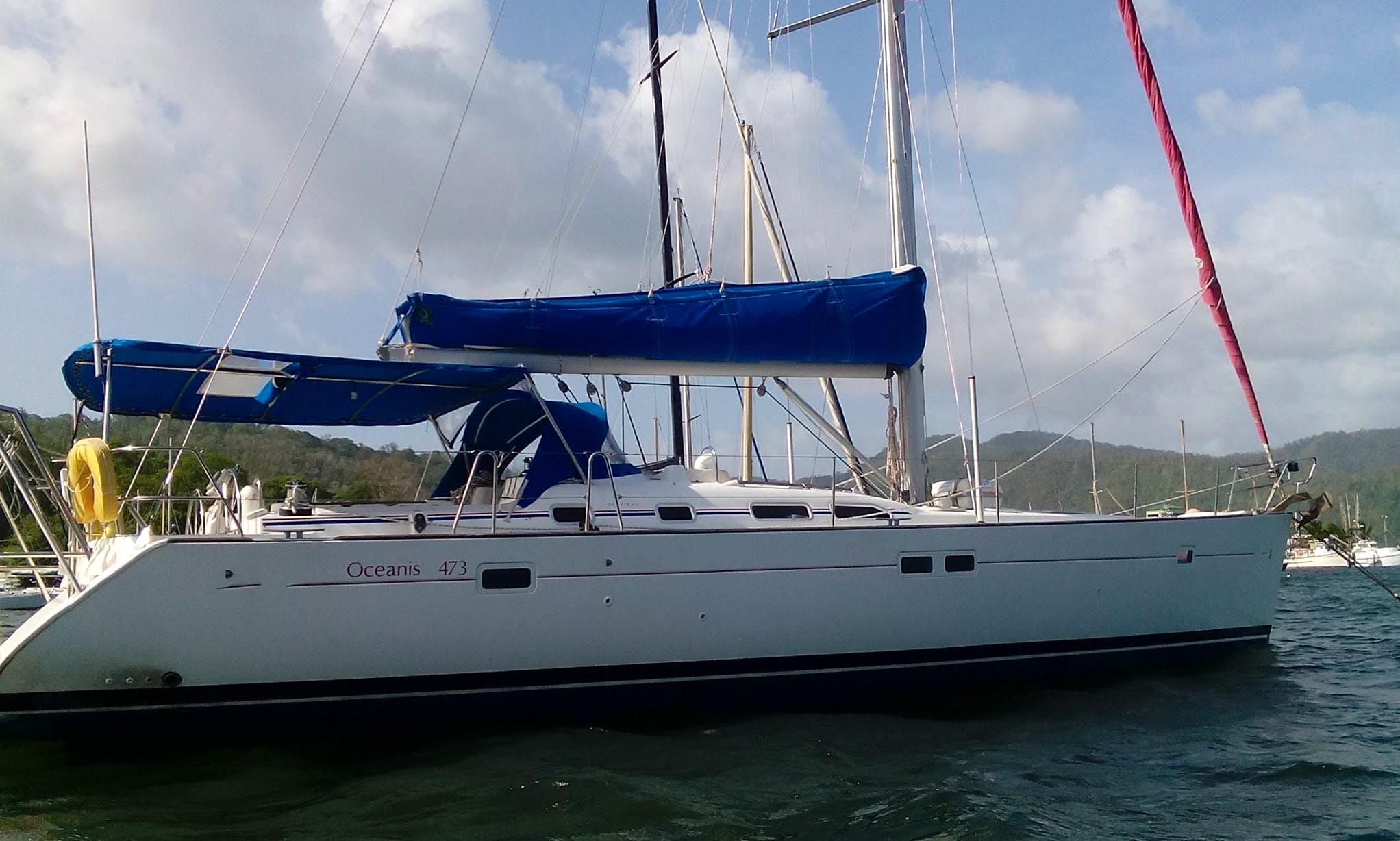 Charter Oceanis 473 Cruising Monohull in Trinidad and Tobago
