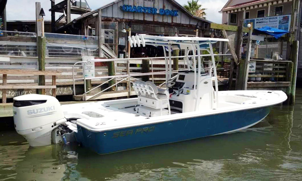 Fishing Charter in Mount Pleasant, South Carolina with Capt. Ronnie