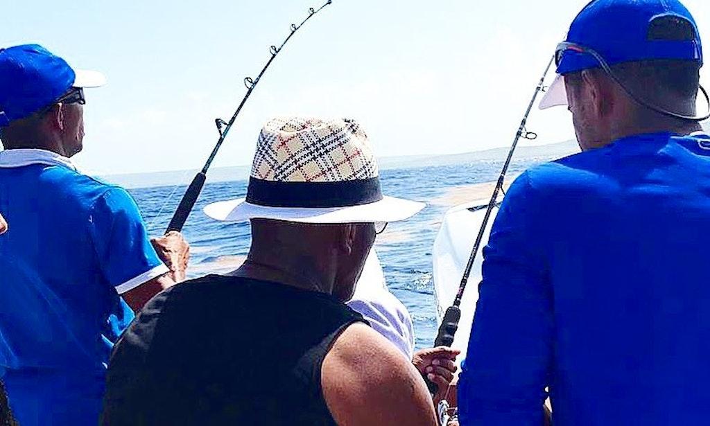 Private deep sea fishing tour in punta cana getmyboat for Punta cana fishing charters