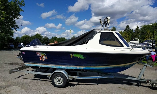 Enjoy Fishing On 17ft Warrior Pro Angler Boat In Tewkesbury, England  With
