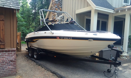 22' Bowrider Rental In Tahoe City, California