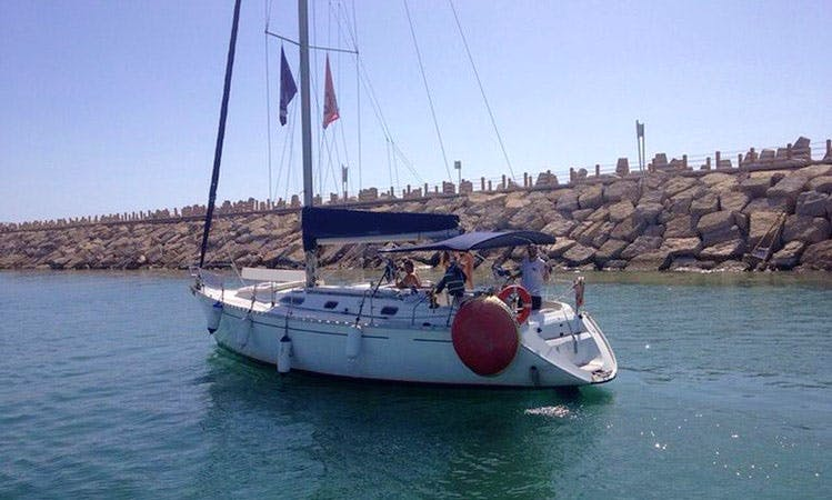 "Charter 39ft ""Lee-Yam"" Cruising Monohull In Herzliya, Israel"