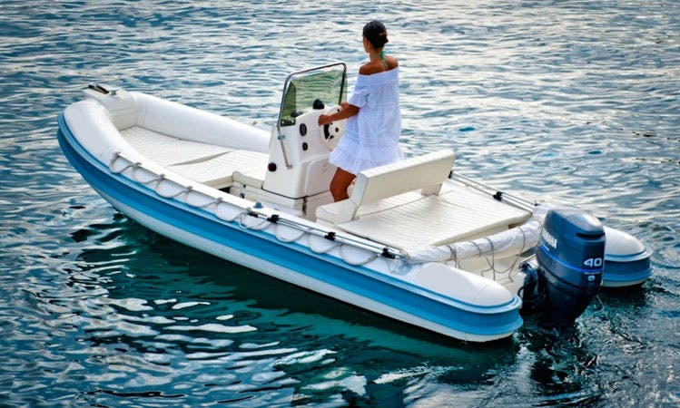 Rent 16' Gommonautica G48 RIB In Ponza, Italy