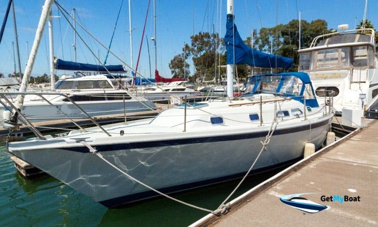 "35ft ""Anthem"" Ericson Cruising Monohull Rental In Oakland, California"