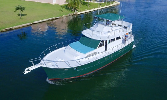 58' Motor Yacht Rental In Playa Del Carmen