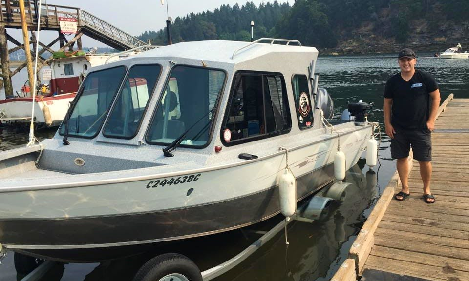 Sport Fisherman Charter in Parksville