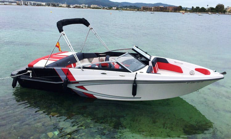 21' Bowrider Rental in Balears, Spain