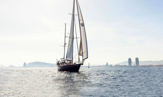 """Captained Charter on 68ft """"Heroica V"""" Sailing Yacht in Barcelona, Spain"""