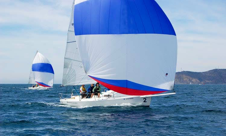 Enjoy a J/80 Performance Sailing Sloop in San Diego, California
