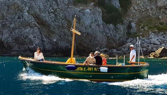 Boat Ride In Capri, Campania