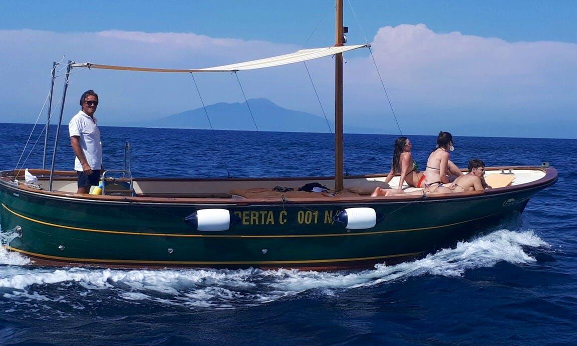 Amazing Boat Tours in Capri
