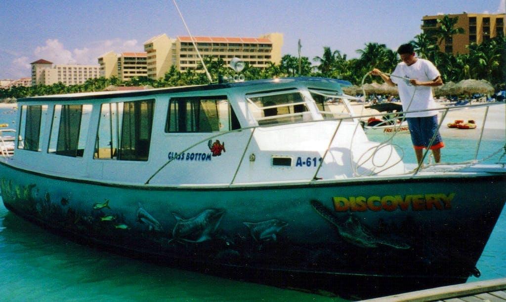 Charter a Glassbottom Boat in Noord, Aruba