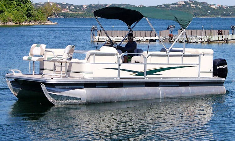 SunTracker Party Pontoon Boat Rental In Austin, Texas