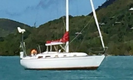 Sailing Cruises For 6 People Aboard The 35' Classing Sailboat In Antigua And Barbuda