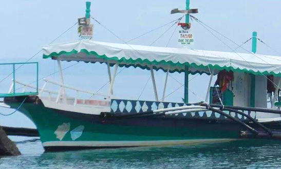 Charter M/b Taclobo Traditional Boat In Davao City, Philippines