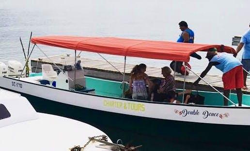 Charter 32' Passenger Boat in Stann Creek, Belize