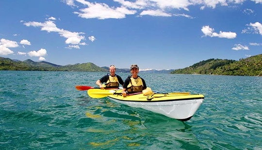 Tandem Kayak Hire In Picton, New Zealand