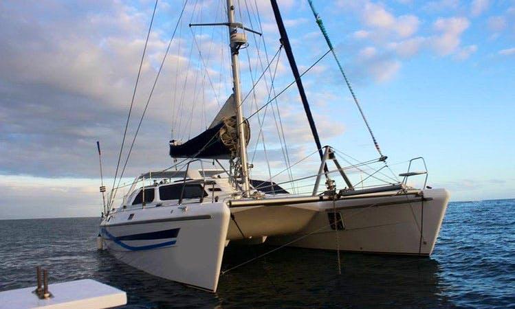 Charter 44' Knysna Cruising Catamaran in Plettenberg Bay, South Africa