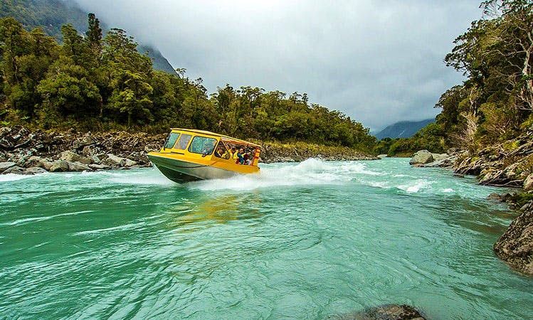 10-Seater Jet Boat Tour - Waiatoto River Safari