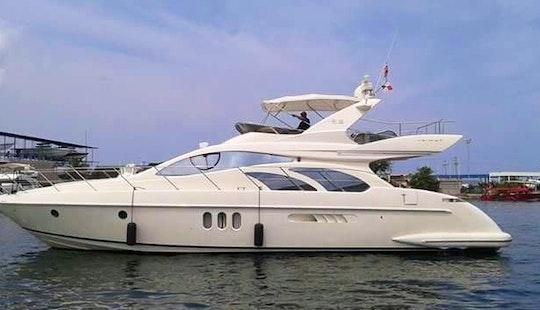 Charter Azimut Motor Yacht In Cartagena, Bolivar