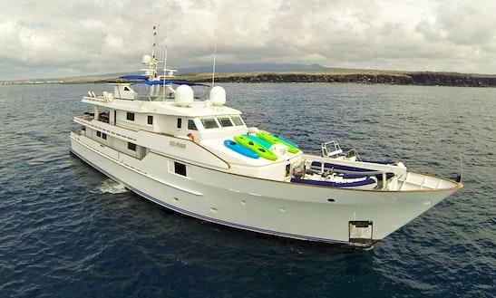 Charter 124' Stella Maris Power Mega Yacht In Guayaquil, Ecuador