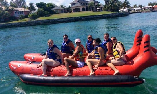 Enjoy Banana Rides In Freeport, The Bahamas
