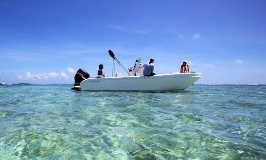 Exciting Boat Tour For 7 Person In Le François, Martinique!