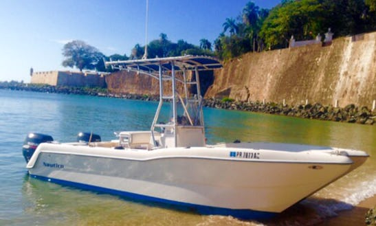 Enjoy Fishing In San Juan, Puerto Rico On Center Console