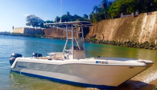 Enjoy Fishing In San Juan, Puerto Rico On Center Console