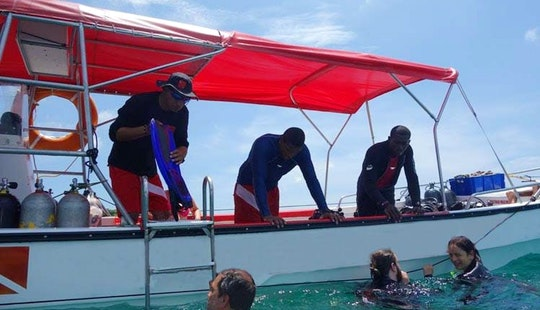 Diving Boat Rental In Cartagena, Colombia