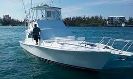 Enjoy Fishing in Nassau, Bahamas on 42' Sport Fisherman