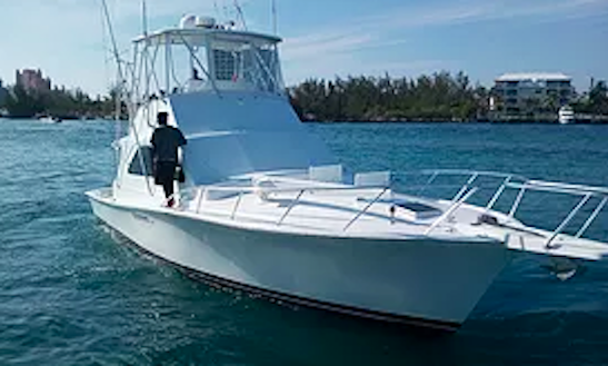 Enjoy Fishing In Nassau, Bahamas On 42' Sport Fisherman
