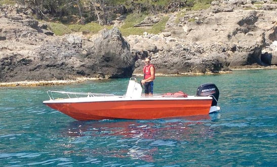 80hp 5,5m Motorboat - Chora Sfakion, Crete, Greece