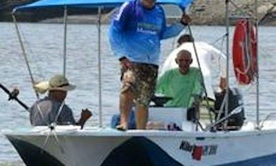 Enjoy Fishing In Guanacaste, Costa Rica On 18' Center Console