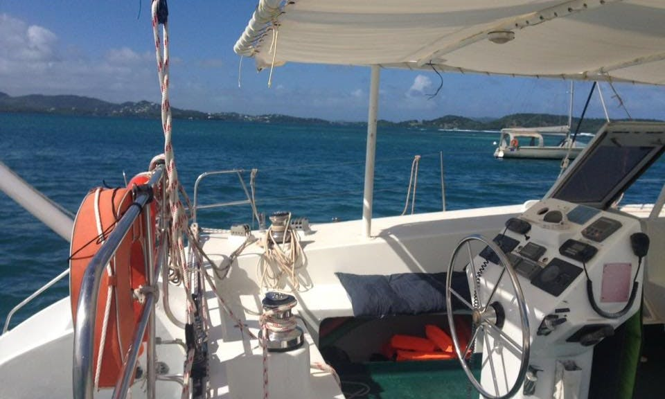 Explore the Ionian Sea with this Cruising Catamaran Rental in Le Robert, Martinique