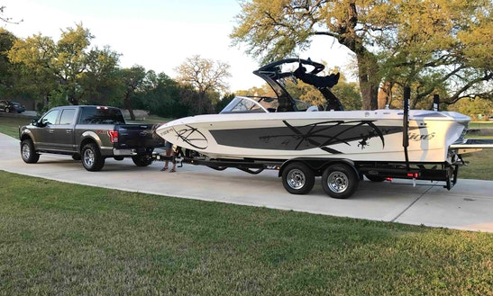 Rent 24' Tige Z24 Bowrider Rental In Lake Travis, Texas