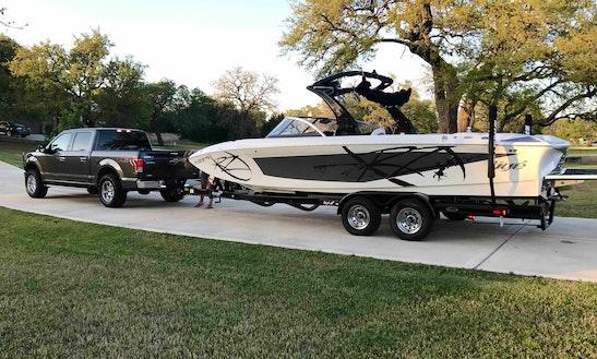 Rent 24' Tige Z24 Bowrider Rental In Lake Travis, Texas