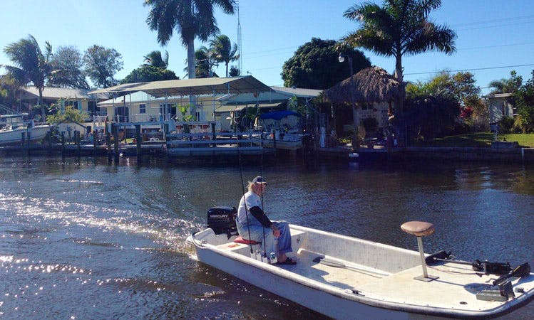 16' Carolina Skiff Boat On Pine Island, Florida