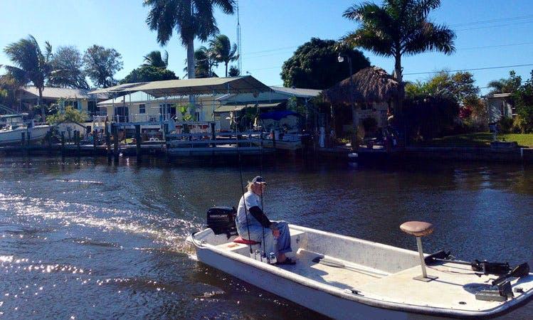16' Carolina Skiff Boat On Pine Island, Florida