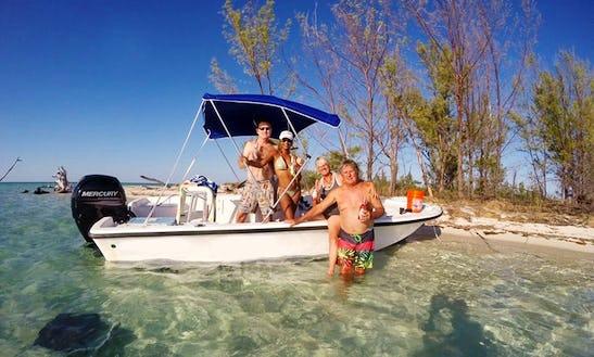 Enjoy Fishing In West End Grand Bahama, The Bahamas On 19' Mako Center Console