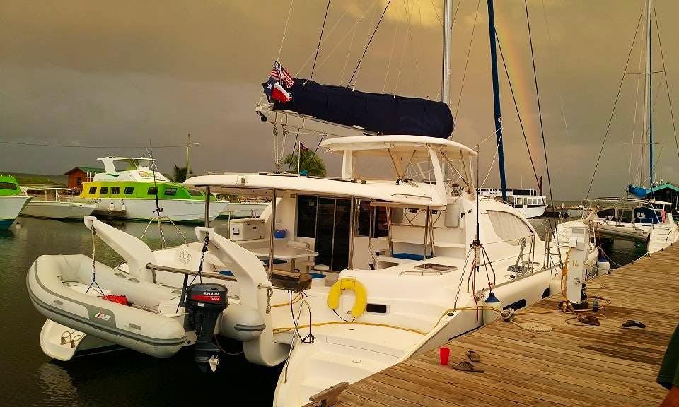 Charter a Cruising Catamaran in Belize City, Belize