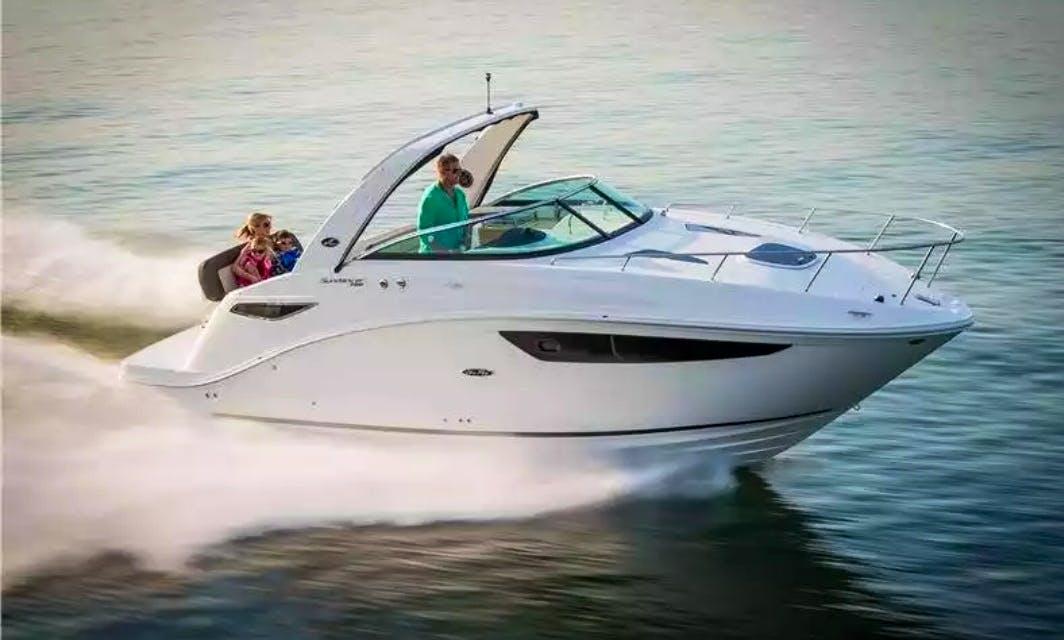 Cuddy Cabin Yacht Rental in Panjim
