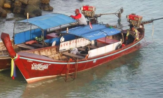 Traditional Boat Rental In Tambon Ko Tarutao, Thailand For Up To 9 Passengers