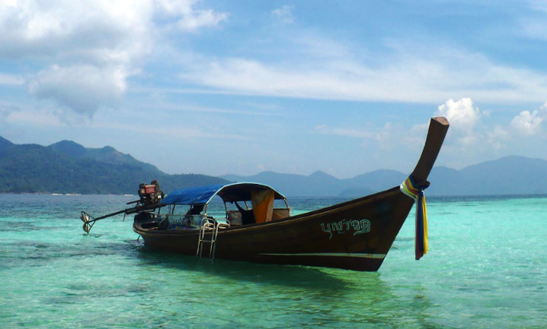 Traditional Boat Cahrter In Tambon Ko Tarutao, Thailand