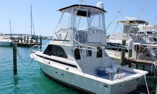 Enjoy Fishing In Nassau, Bahamas On 35' Micsam Sport Fisherman