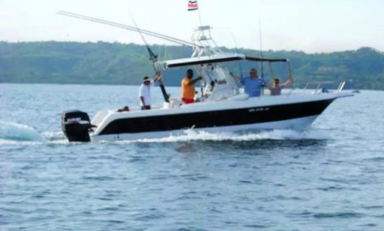 Enjoy Fishing In Guanacaste, Costa Rica On Center Console Boat