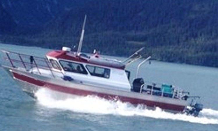 """Charter 32ft """"Meagan Anne"""" Cuddy Cabin In Whittier, Alaska"""