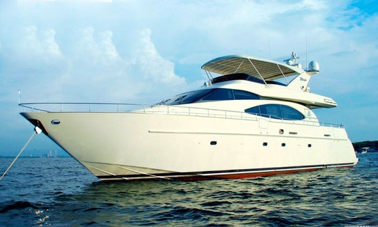 70' Power Mega Yacht Charter In Bolívar, Colombia