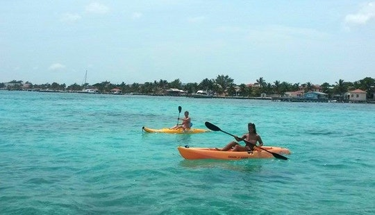Rent A Kayak In San Pedro, Belize